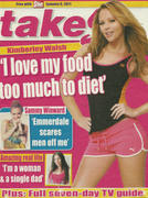 Kimberley Walsh-Take 5 Magazine January 9th 2011
