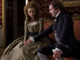 Keira Knightley in press stills for her movie The Duchess