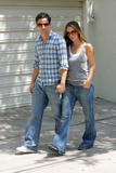 Jennifer Love Hewitt with Ross at Toluca Lake
