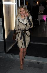 Mollie King at the Supertrash Store Launch Party in London 21st November x19