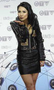 Cassie Steele *ADDS* at the Junos  01Apr12