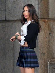 Megan Fox - Set of 'Teenage Mutant Ninja Turtles 2' in Manhattan, NY (6/02/15)